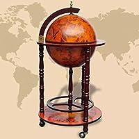 Lingjiushopping Minibar Elegante A Form von Globo aus Holz Durchmesser des Globo: 36cm Schränke für Weine und... preisvergleich bei billige-tabletten.eu