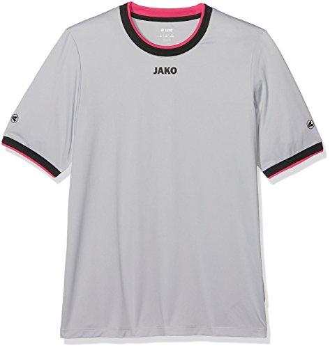 Jako bambini Trikots KA United calcio, Maglietta Grau/Schwarz/Pink