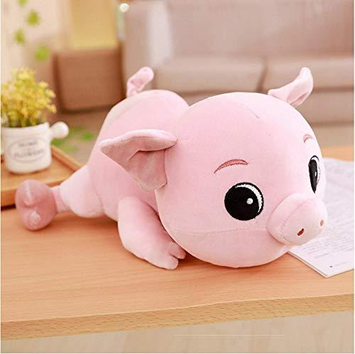 ycmjh Plüsch weiches Plüschtier Cartoon großes Auge Schwein kleine Puppe Geschenk 30cm - Seidig Weiche Auge-kissen