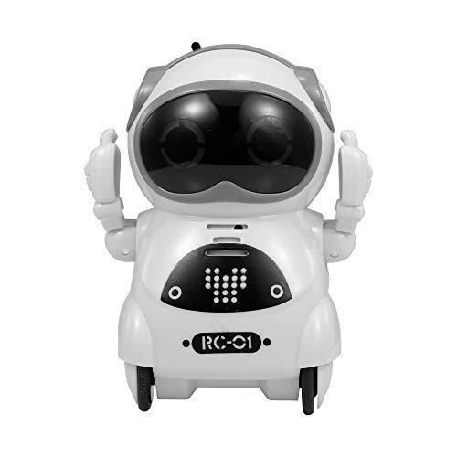 RC TECNIC Mini Robot Interactivo para Niños Reconoce Tu Voz...