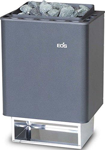 Eos 945480 Eos Saunaofen (Wandausf.) Anthrazit-Perleffekt Thermat 6Kw,