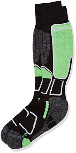spaio-calzini-unisex-thermo-ski-power-nero-verde-41-43