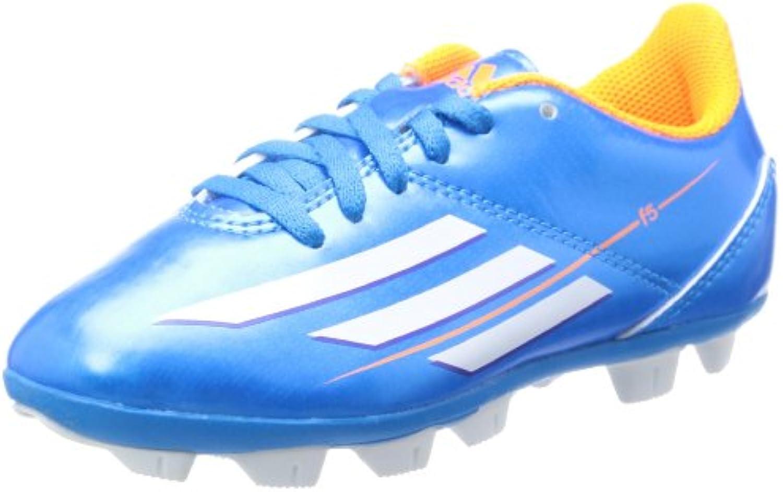 Adidas Schuhe Nockenschuhe F5 Fußballschuhe HG Hartplatzschuhe Kinder Junior Kinder solblu/runwh