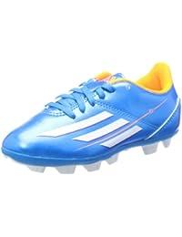 low priced f8c1f 9f0bf Botas Adidas F5 TRX HG Azul Junior -Messi-
