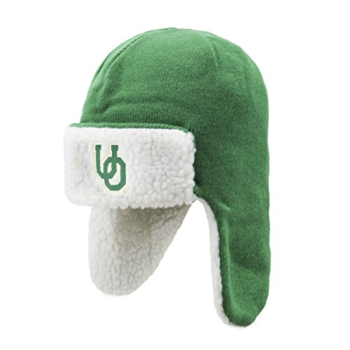 OTS NCAA Breck Sherpa Hunter Knit Cap, one Size, Unisex, NCAA Breck OTS Sherpa Hunter Knit Cap, One Size, Kelly Hunter Knit Hat