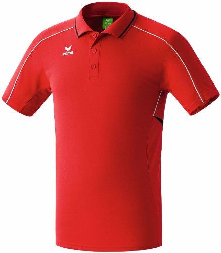 Erima Oberkörper-Bekleidung Gold Medal Poloshirt Men rot/schwarz/weiß