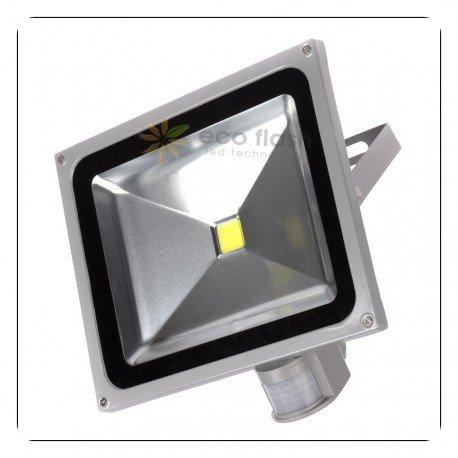 Preisvergleich Produktbild LED Fluter Mit Bewegungsmelder , LE 20W Ultraheller , LED Flutlichtstrahler Strahler Scheinwerfer , Kaltweiß.