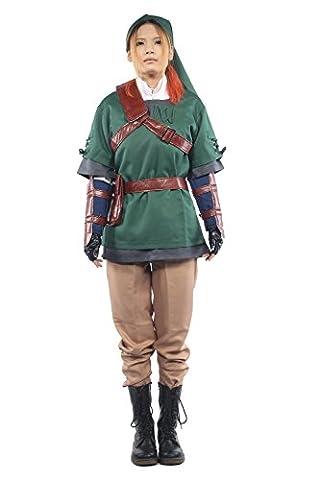 Link Costume Kompletter Anzug Kleidung Halloween Carnival Cosplay Kostüm