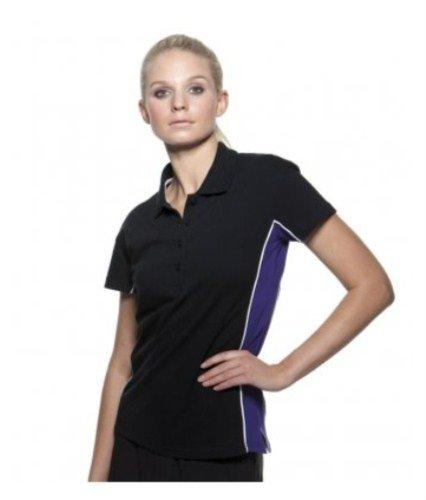 Gamegear - Polo -  - Manches courtes Femme Noir - Black Purple