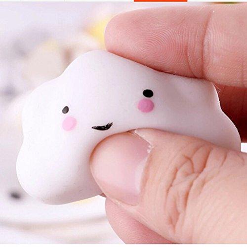Kenmont Squishies Squeeze Spielzeug Niedlich Langsam Rising Squishy Spielzeug Stress Relief Toy (weiße Wolken)