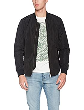 Scotch & Soda Sporty Nylon Bomber with Racing Stripe Details, Chaqueta para Hombre