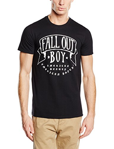 Plastic Head Fall Out Boy American Beauty-T-shirt  Uomo    nero Small