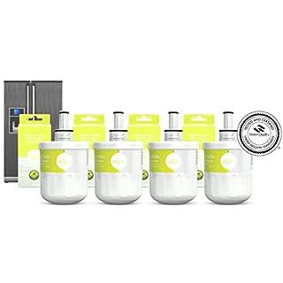 4x Seltino HAFIN - kompatibler Wasserfilter für Samsung Kühlschränke, ersetzt DA29-00003G, Hafin/exp