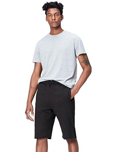 Schwarze Herren Activewear (Activewear Shorts Herren, Schwarz, Large)