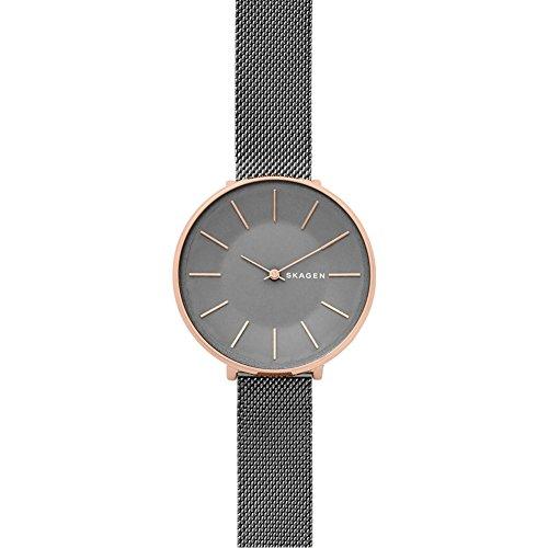 Skagen Damen Analog Quarz Uhr mit Edelstahl Armband SKW2689