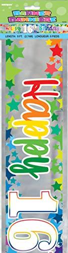 Party 55890Geburtstag Banner, Multi ()