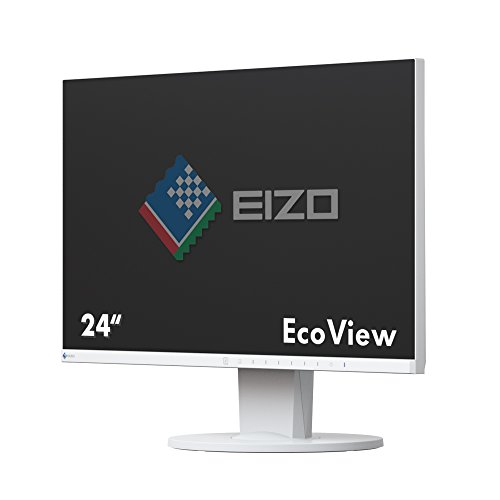 EIZO 23.8-Inch FlexScan LCD/LED Monitor - White UK