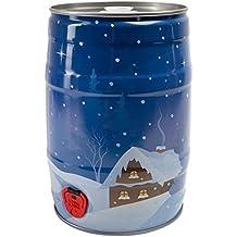 Fiesta Barril 5litros, invierno Dekor–Invierno Paisaje (incluido Combi cierre–Brau accesorios Hobby Brauer.
