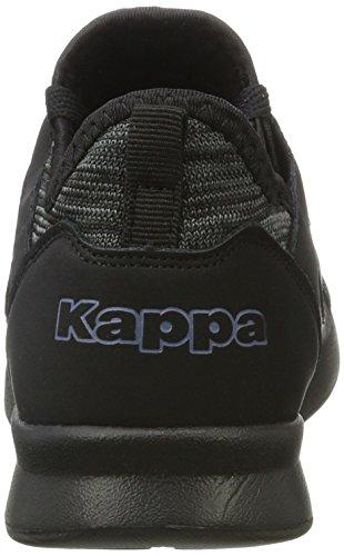 Kappa Unisex-Erwachsene Around Sneaker Schwarz (1111 Black)