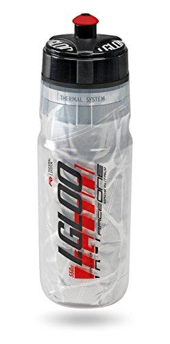 RaceOne R1Igloo–Botella de Agua 550ML, Color Rojo, tamaño n/a