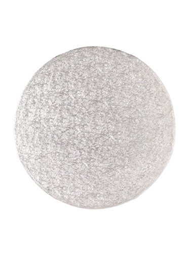"14"" inch ROUND SILVER Cake Drum Board - for displaying your cake"