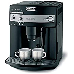 De'Longhi Magnifica ESAM 3000.B, Kaffeevollautomat, 1,8 L Wassertank, Milchschaum-Düse, Kegelmahlwerk , Schwarz