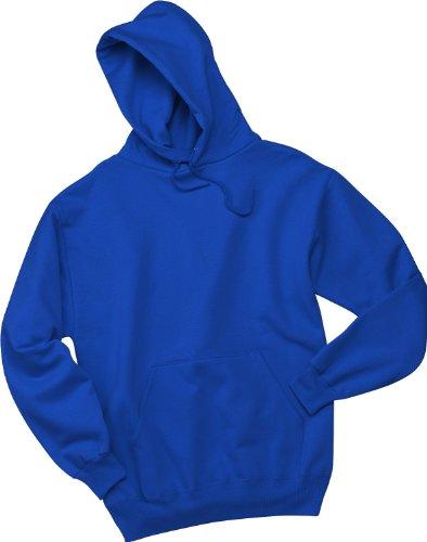 Wei§er Fu§ball auf American Apparel Fine Jersey Shirt Blau (True Royal)