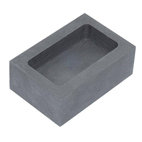 Graphit-Gussform aus Metall, Barren-Form zum Raffinieren, Schmelzen für Gold, Silber, oder Aluminium