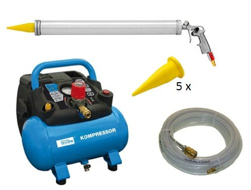 Preisvergleich Produktbild Baitgun Boiliegun Köderpistole, Set mit Kompressor und Zubehör