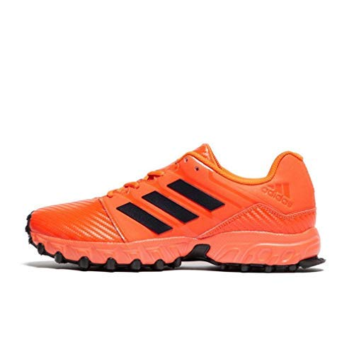 new arrival f951a 02e49 adidas Lux Junior Hockey Schuhe, Rot, 37 13