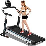Fayoo Treadmill Mechanische Laufband Stumm Faltende Mini-Laufband Fitnessgeräte Home Laufband