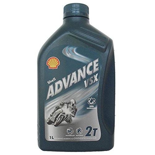 Shell Advance VSX2 1 Liter 2T 2 Takt Öl, Motorrad, JASO FC ISO-L-EGD Öl, - Motorrad öl Shell