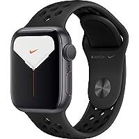 Apple Watch Nike Seri 5 40mm GPS Uzay Grisi Alüminyum Kasa ve Antrasit/Siyah Nike Spor Kordon MX3T2TU/A