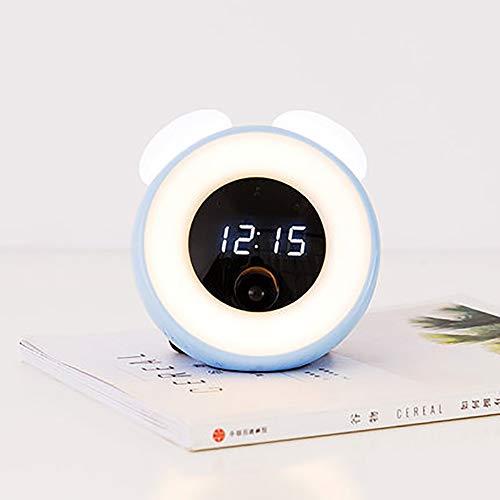 ZDYLM-Y Luces-Despertador Despertador Niño Dormitorio