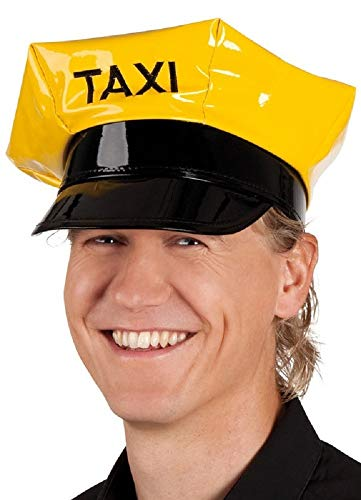 Damen Herren Taxi Fahrer Benannt Junggesellinnenabschied Junggesellenabschied Kostüm Kleid Outfit Hut