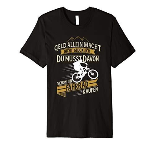 Fahrrad mountainbike rennrad glück t-shirt lustig sprüche