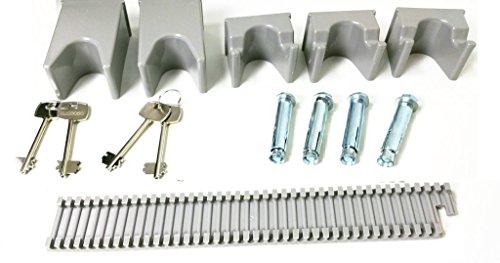 Progen 4Waffenschrank Safe Lock Aufbewahrungsbox für Schrotflinten Gewehr alle Feuerwaffe M1 - 9