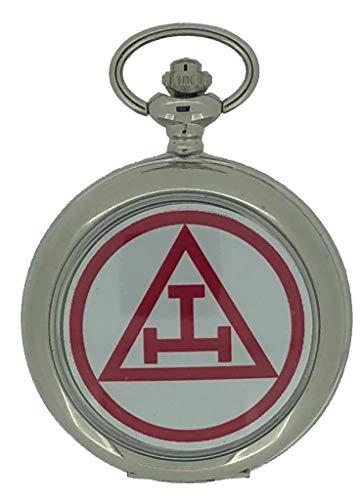 Freimaurer-Royal Arch Taschenuhr, Silberfarben