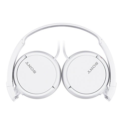 Sony-MDR-ZX110A-On-Ear-Stereo-Headphones-White