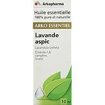 Arkopharma Huile Essentielle Unitaire Lavande Aspic/Lavandula Latifolia Flacon de 10 ml