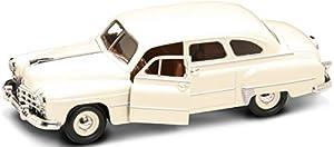 LUCKY Die Cast 24212WH-1950GAZ de 12Zim, vehículos, Color Blanco