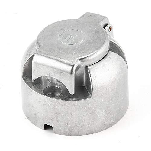 Attelage remorque prise 7 broches col de cygne de métal