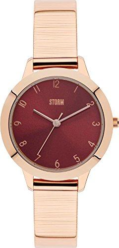 Storm - Arya 47291/R RG-RED - Arya - - Montre Femme- Bracelet en