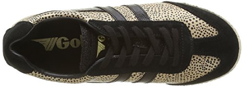 Gola Harrier Safari, Baskets Basses Femme Or - Gold (Gold/Black)