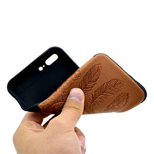 "inShang Hülle für iPhone 6 Plus iPhone 6S Plus 5.5"" , Ultra Schlank und leicht TPU Bequem Schutzhülle Rückcover (Back Case) design für Handy iPhone 6+ iPhone 6S+ 5.5 inch, Brown chimes"