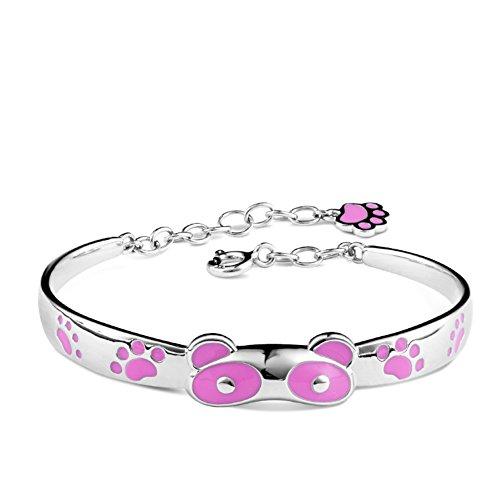 925 silver bracelet/Cadeau d'anniversaire de bébé de la pleine lune/ bracelet plaqué or B