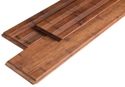 Bambus Dielen (Bambus Terrassendiele Select Coffee 2200x140x20 mm)