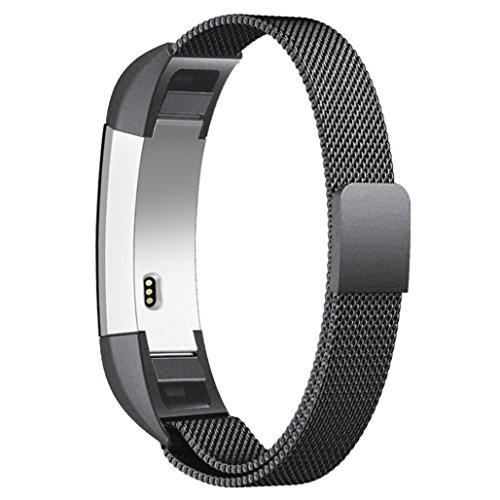 Kaiki für Fitbit Alta Smart Watch Armband,Milanese Magnetschlaufe Edelstahlband für Fitbit Alta Smart Watch
