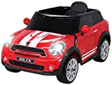 Kinder Elektroauto Mini Cooper Paceman Lizenziert 2x45 Watt Motor Rot - Elektro Auto Elektroauto Kinderauto