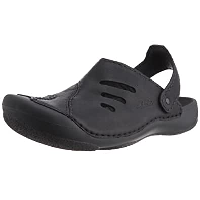 Clarks Men's Wild Vibe Black Leather Loafers and Mocassins - 6.5 UK